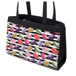 Macarons Zippered Everyday Tote (Personalized)