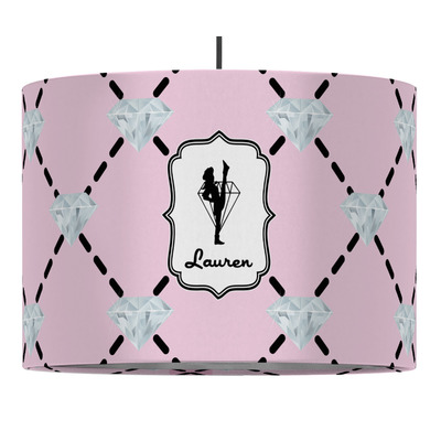 Diamond Dancers Drum Pendant Lamp (Personalized)