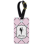 Diamond Dancers Aluminum Luggage Tag (Personalized)