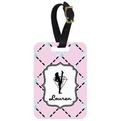 Diamond Dancers Aluminum Luggage Tag (Personalized)