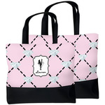Diamond Dancers Beach Tote Bag (Personalized)