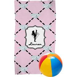 Diamond Dancers Beach Towel (Personalized)