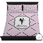 Diamond Dancers Duvet Cover Set (Personalized)