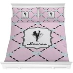Diamond Dancers Comforter Set (Personalized)