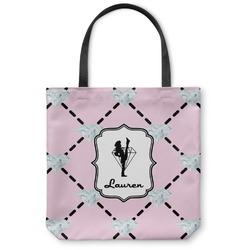Diamond Dancers Canvas Tote Bag (Personalized)