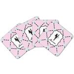 Diamond Dancers Cork Coaster - Set of 4 w/ Name or Text