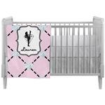 Diamond Dancers Crib Comforter / Quilt (Personalized)
