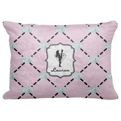 "Diamond Dancers Decorative Baby Pillowcase - 16""x12"" (Personalized)"