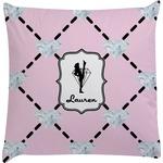 Diamond Dancers Decorative Pillow Case (Personalized)