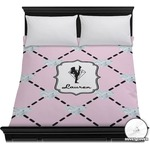 Diamond Dancers Duvet Cover (Personalized)