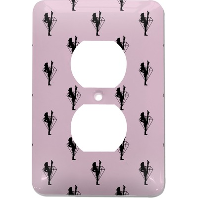 Diamond Dancers Electric Outlet Plate (Personalized)