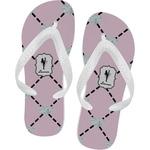Diamond Dancers Flip Flops (Personalized)