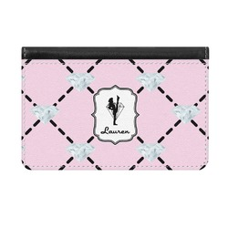 Diamond Dancers Genuine Leather ID & Card Wallet - Slim Style (Personalized)