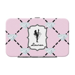 Diamond Dancers Genuine Leather Small Framed Wallet (Personalized)