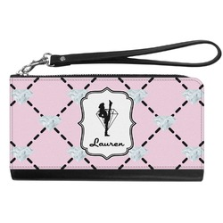 Diamond Dancers Genuine Leather Smartphone Wrist Wallet (Personalized)