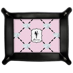 Diamond Dancers Genuine Leather Valet Tray (Personalized)