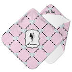 Diamond Dancers Hooded Baby Towel (Personalized)