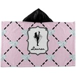 Diamond Dancers Kids Hooded Towel (Personalized)