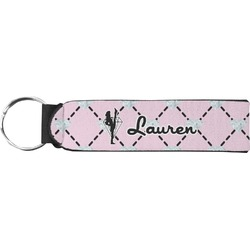 Diamond Dancers Neoprene Keychain Fob (Personalized)
