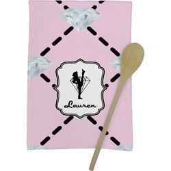 Diamond Dancers Kitchen Towel - Full Print (Personalized)