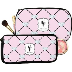 Diamond Dancers Makeup / Cosmetic Bag (Personalized)