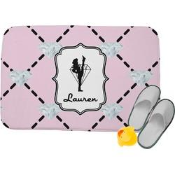 Diamond Dancers Memory Foam Bath Mat (Personalized)