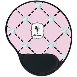 Diamond Dancers Mouse Pad with Wrist Support