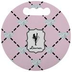 Diamond Dancers Stadium Cushion (Round) (Personalized)