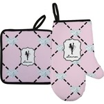 Diamond Dancers Oven Mitt & Pot Holder (Personalized)