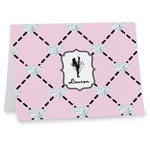 Diamond Dancers Note cards (Personalized)