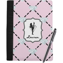 Diamond Dancers Notebook Padfolio (Personalized)