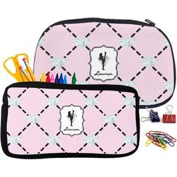 Diamond Dancers Pencil / School Supplies Bag (Personalized)