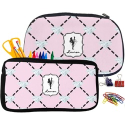 Diamond Dancers Pencil / School Supplies Bag (Personalized)