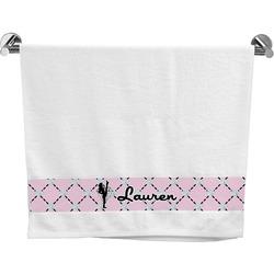 Diamond Dancers Bath Towel (Personalized)