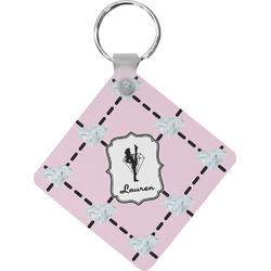 Diamond Dancers Diamond Key Chain (Personalized)