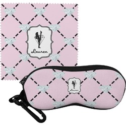 Diamond Dancers Eyeglass Case & Cloth (Personalized)
