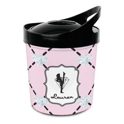 Diamond Dancers Plastic Ice Bucket (Personalized)