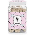 Diamond Dancers Dog Treat Jar (Personalized)