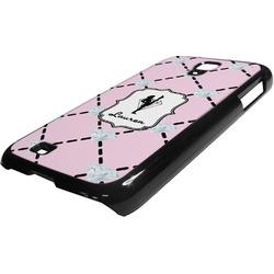Diamond Dancers Plastic Samsung Galaxy 4 Phone Case (Personalized)