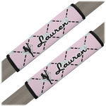 Diamond Dancers Seat Belt Covers (Set of 2) (Personalized)