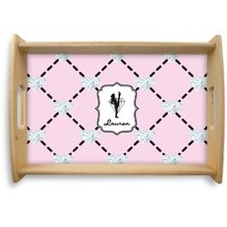 Diamond Dancers Natural Wooden Tray (Personalized)