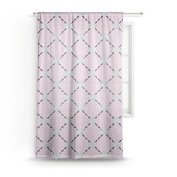 Diamond Dancers Sheer Curtains (Personalized)