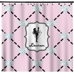 Diamond Dancers Shower Curtain (Personalized)