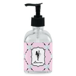 Diamond Dancers Soap/Lotion Dispenser (Glass) (Personalized)