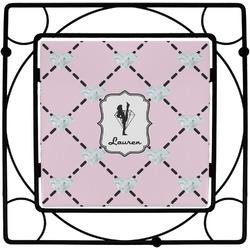 Diamond Dancers Square Trivet (Personalized)