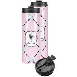 Diamond Dancers Stainless Steel Skinny Tumbler (Personalized)