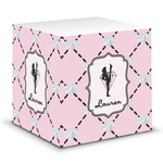 Diamond Dancers Sticky Note Cube (Personalized)