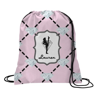 Diamond Dancers Drawstring Backpack (Personalized)