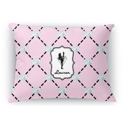 Diamond Dancers Rectangular Throw Pillow Case (Personalized)