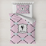 Diamond Dancers Toddler Bedding w/ Name or Text